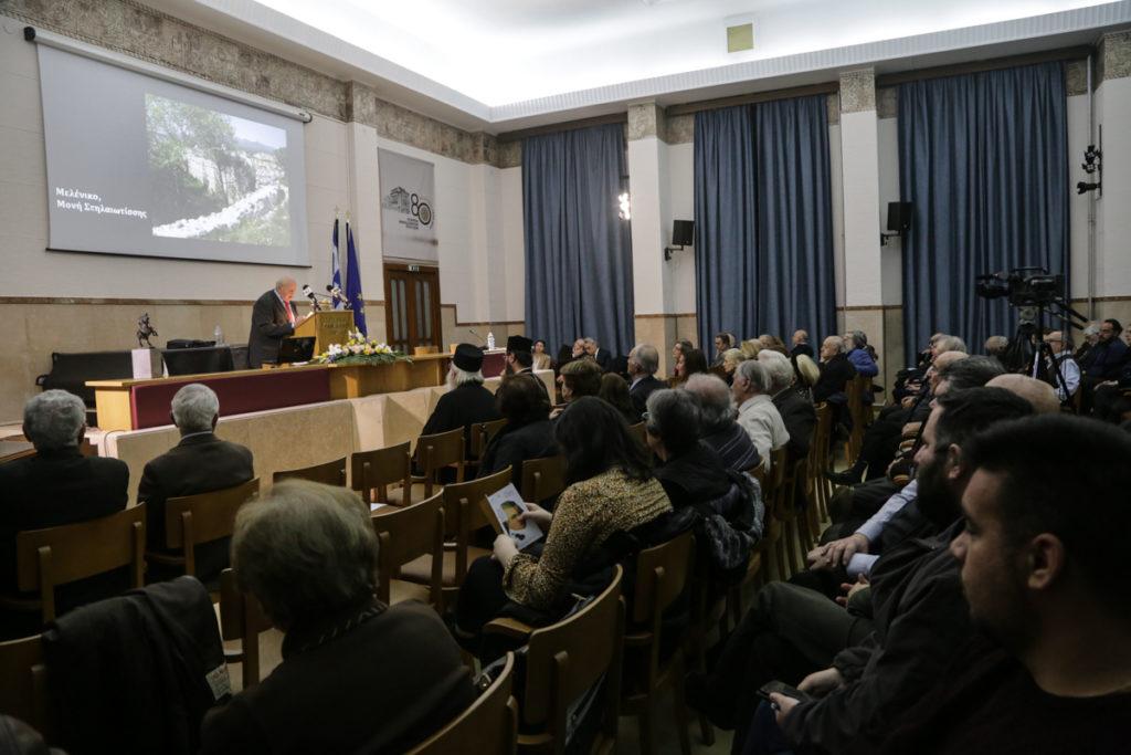Τιμητική διάκριση στο Κρίτωνα Χρυσοχοΐδη από την Εταιρεία Μακεδονικών Σπουδών