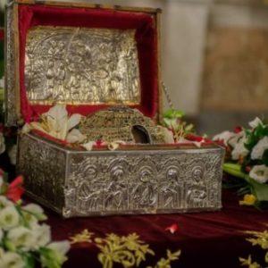 Άγιος Παρθένιος επίσκοπος Λαμψάκου, προστάτις των καρκινοπαθών
