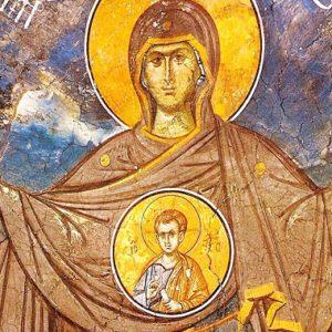 «Πύλαι του Ιερού, εισδέξασθε Παρθένον, εις Άγια Αγίων»