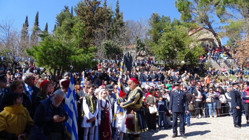 Τιμώντας τους ήρωες εκεί που  έπεσε η πρώτη τουφεκιά της Ελληνικής Επανάστασης