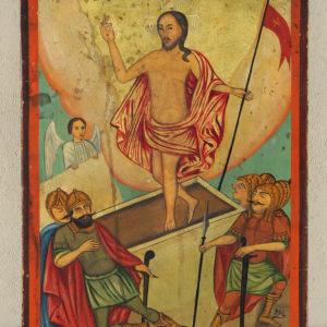 Η εικόνα της Ανάστασης μέσα από τον χρωστήρα του αγιογράφου Νεόφυτου Ν. Ζωγράφου ( 1880-1961)
