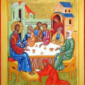 Η αλείψασα τον Κύριο μύρα & η αγία Μαρία η Μαγδαληνή
