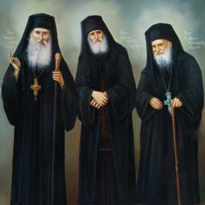 Οι τρεις Άγιοι των ημερών μας