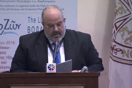 2ο Διεθνές Συνέδριο Ψηφιακών Μέσων & Ορθόδοξης Ποιμαντικής DMOPC18 – Χαιρετισμός κ. Νικόλαου Γκουράρου