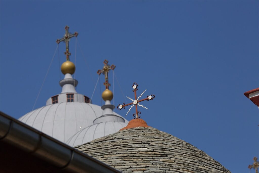 Άγιον Όρος: Πανήγυρη στην Σκήτη του Προφήτη Ηλία