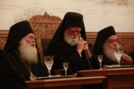 Ομιλίες στο Συνοδικό της Ι. Μ. Μ. Βατοπαιδίου κατά την εορτή της Κοιμήσεως της Θεοτόκου