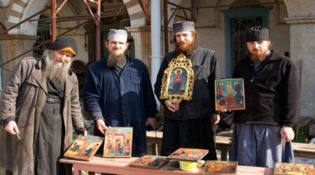 Του Κόσμου τα γυρίσματα: Άγιον Όρος, Σκήτη Βογορόδιτσα (Παναγία), πρόσωπα Μοναχών