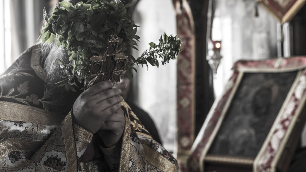 Στην Αθωνιάδα Ακαδημία του Αγίου Όρους, αρχή σχολικής χρονιάς την ημέρα του Σταυρού