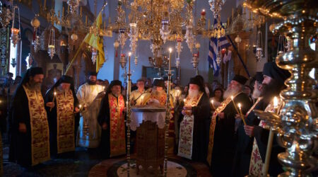 Κτητορικό Μνημόσυνο στην Ι. Μονή Παναγίας της Θεοσκεπάστου Σοχού