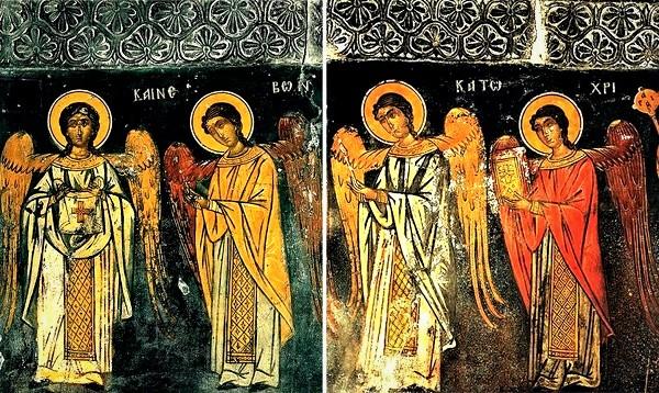 Αποτέλεσμα εικόνας για Ο κατάκοιτος φίλος του στάρετς Ζαχαρία που έλαβε χαρίσματα και τον κοινωνούσαν Άγγελοι!