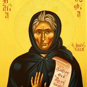Διηγήσεις θαυμάτων της Οσίας Σοφίας της Κλεισούρας από την Ηγουμένη της Ι.Μ. Παναγίας Κλεισούρας