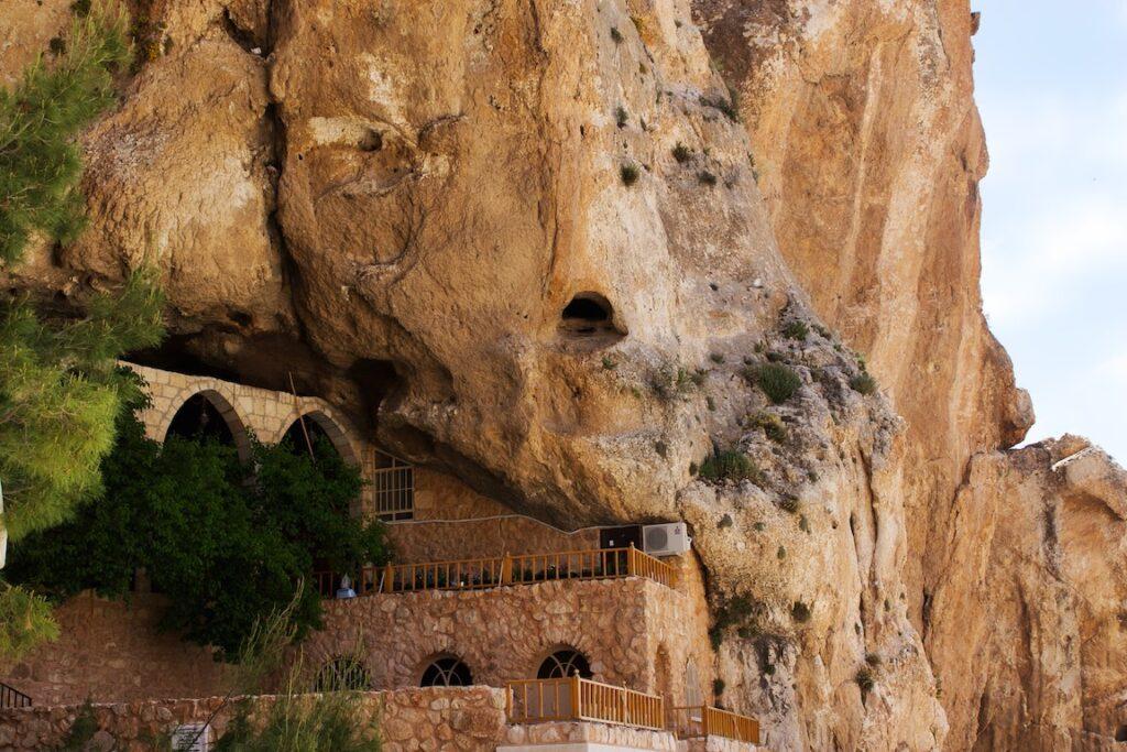 Εορτή Αγίας Θέκλας στο Μοναστήρι της στην Μααλούλα της Συρίας πριν τον πόλεμο