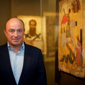Ο συλλέκτης Μιχαήλ Αμπράμοβ