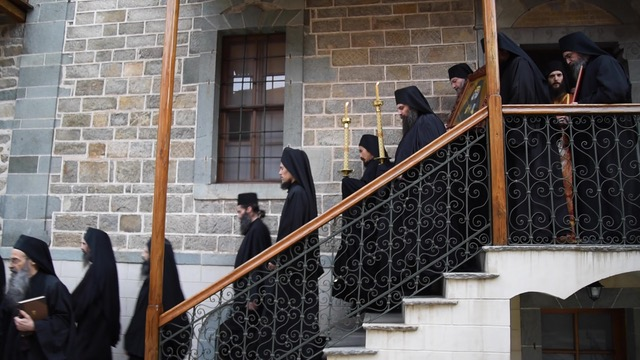 Η πρώτη τιμή του Αγίου Ιερωνύμου του Σιμωνοπετρίτου στην Μονή του