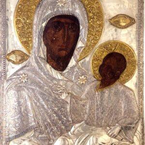 Υποδοχή της Ιεράς Εικόνος Παναγίας της Εσφαγμένης εις τον Ιερό Ναό Αγίου Γεωργίου Παπάγου