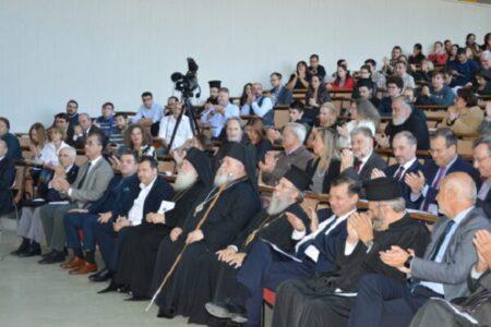 Στιγμές από την τελετή υποδοχής πρωτοετών Φοιτητώντης Θεολογικής Σχολής Αθηνών