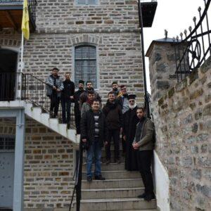 Εκπαιδευτική επίσκεψη – Προσκύνημα στο Άγιον Όρος Φοιτητών της Ανωτάτης Εκκλησιαστικής Ακαδημίας Θεσσαλονίκης