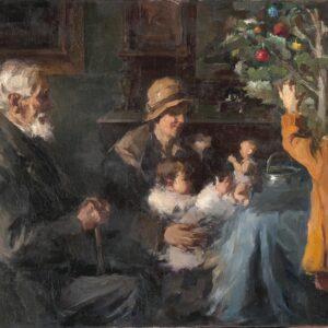 Τα Χριστούγεννα στη νεοελληνική τέχνη