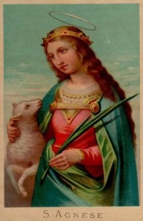 Εικονογραφία της Αγίας Αγνής σε Ανατολή και Δύση