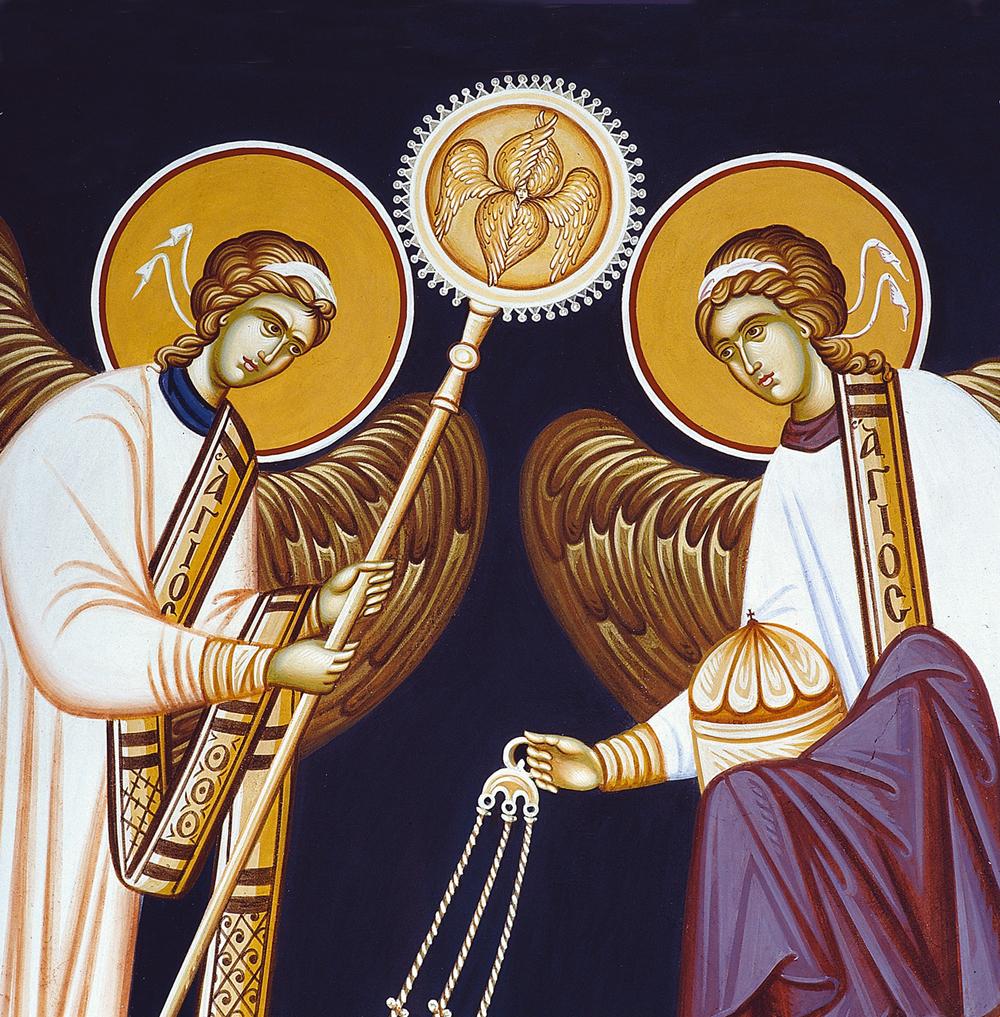 Οι Άγγελοι στη Θεία Λειτουργία
