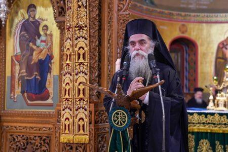 «Είθε με τις πρεσβείες του Αγίου Αντωνίου Νέου να βρεθούμε και εμείς στη Βασιλεία των Ουρανών»