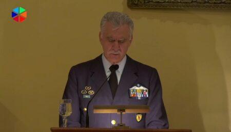 «190 έτη παρουσίας Στρατιωτικών Ιερέων στις Ελληνικές Ένοπλες Δυνάμεις» – Χαιρετισμός Αρχηγού ΓΕΕΘΑ Πτέραρχου Χρήστου Χριστοδούλου