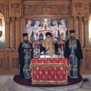 Κοπή βασιλόπιτας Συνδέσμου Ιεροψαλτών και της Σχολής Βυζ. Μουσικής της Ι. Μητροπόλεως Δημητριάδος