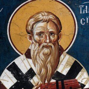 Άγιος Ταράσιος Πατριάρχης Κωνσταντινουπόλεως, ο Ομολογητής