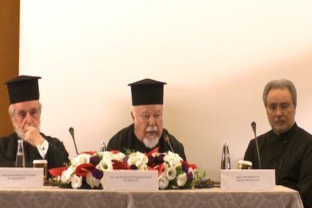 Διεθνές Συνέδριο «Η θεολογική παρακαταθήκη του πρωθιερέως Γεωργίου Φλωρόφσκυ» – Χαιρετισμός Μητροπολίτου Γερμανίας κ. Αυγουστίνου