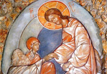 Μπροστά στην Σταύρωση και την Ανάσταση του Χριστού