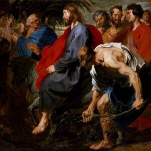 Ο προδότης των λαϊκών ονείρων. Μια προσέγγιση του έργου του Βαν ντ΄ Άικ  «Είσοδος του Χριστού στα Ιεροσόλυμα»