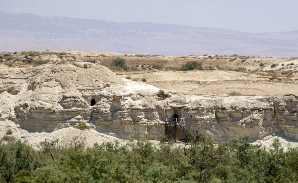 Το σπήλαιο που ασκήθηκε η Αγία Μαρία η Αιγυπτία