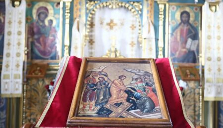 Τρίτη της Διακαινησίμου – Αναστάσιμη Θεία Λειτουργία – Βατοπαιδινό Μετόχι Αγίου Νικολάου Πόρτο Λάγος