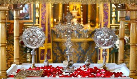 Εσπερινός & Θεία Λειτουργία του Μ. Βασιλείου-Βατοπαιδινό Μετόχι Αγ. Νικολάου Πόρτο Λάγος