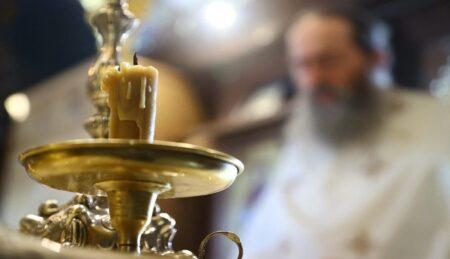 Όρθρος – Θεία Λειτουργία – Βατοπαιδινό Μετόχι Αγίου Νικολάου Πόρτο Λάγος (11/05/20)