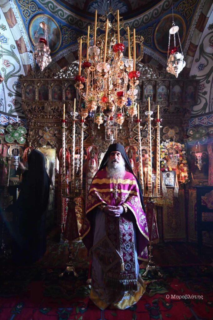 Εορτή ανακομιδής τιμίων Λειψάνων Αγίου Νικολάου στο Βατοπαιδινό Κελλί του Αμμωνά