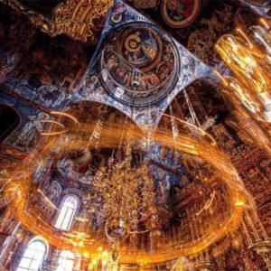 «Μυστικῶς εἶ Θεοτόκε παράδεισος», Παρθενίου Βατοπαιδινού (Χορός Βατοπαιδινός)