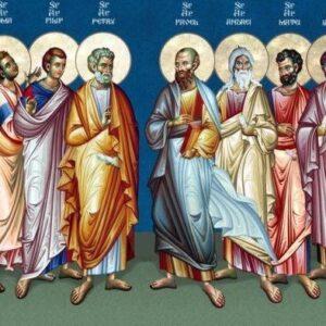 Οι άγιοι απόστολοι Θωμάς, Ιούδας του Ιακώβου, Ιάκωβος του Αλφαίου και Σίμων ο Ζηλωτής