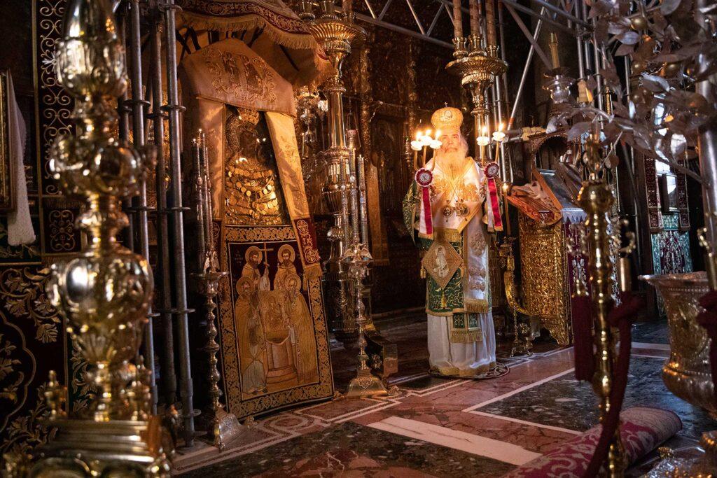 Η μνήμη του Οσίου Ιωσήφ του Ησυχαστού και Σπηλαιώτου στην Ιερά Μεγίστη Μονή Βατοπαιδίου