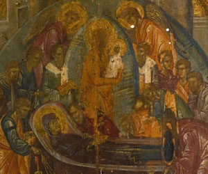 Εγκώμιον στη Κοίμηση της Θεοτόκου – Άγιος Ιωάννης ο Δαμασκηνός