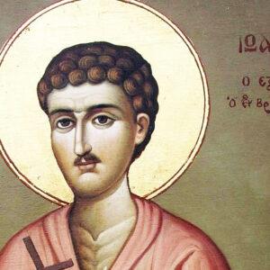 Ο άγιος νεομάρτυς Ιωάννης ο εξ Αγαρηνών, ο Βραχωρίτης