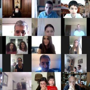 4η Διαδικτυακή Σύναξη από τον Άθωνα με τον Γέροντα Εφραίμ, παιδιά και νέους