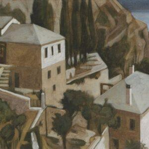 Μάρκος Καμπάνης-Άγιον Όρος: Ζωγραφική, χαρακτικά, σχέδια (1990-2008)