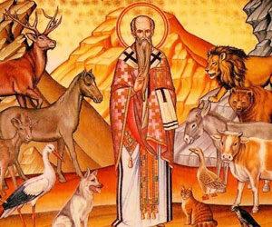 Ο Άγιος Μόδεστος, ο προστάτης των ζώων