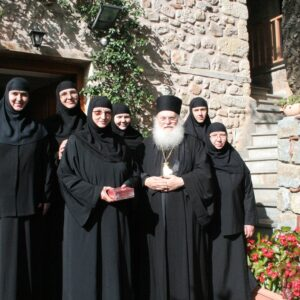 Άσμα αφιερωμένο στη Γερ. της Ι. Μ. Ρουσάνου Φιλοθέη μοναχή