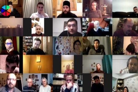 1η Διαδικτυακή Σύναξη με Ρουμάνους Ιεροψάλτες