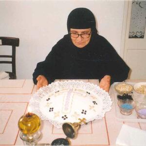 Η Οσιακή Κοίμησις της Γεροντίσσης Πουλχερίας, τελευταίας Μοναχής  και Ηγουμένης της Ιεράς Μονής Θείας Αναλήψεως του Κυρίου Καλύμνου