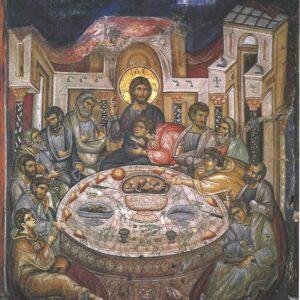 Ο Πέτρος και ο Ιωάννης στην προετοιμασία του Μυστικού Δείπνου
