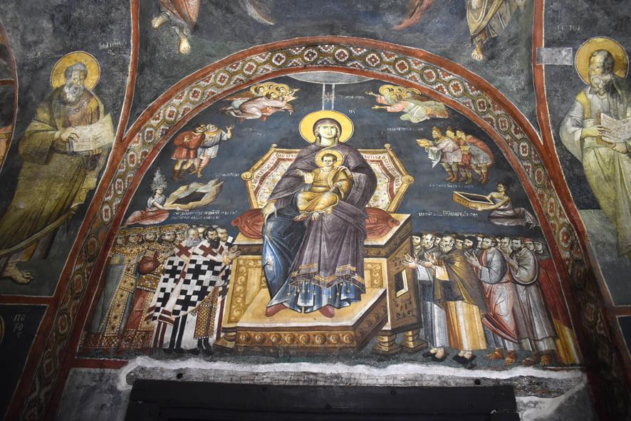 Ο Καθεδρικός Ναός Παναγίας της Περιβλέπτου στην Αχρίδα