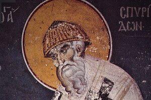 Άγιος Σπυρίδων, Το διπλό θαυμαστό τερατούργημα και το δίλημμά του!